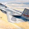 самолет F-22 «Раптор» (1:48)