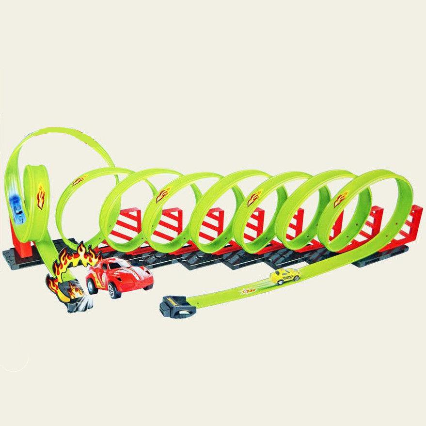 Детский пусковой трек Track Racing длина трека 650 см