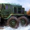 автомобиль МАЗ-537 тягач (1:35)