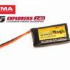 Аккумулятор Black Magic 3.7V 700mAh 35C LiPo JST-Molex plug (Syma X5, X5C, X5SC, X5SW)
