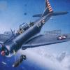 самолет SBD-3/4 — А-24А «Даунтлес» (1:32)