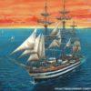 учебный фрегат «Америго Веспуччи» (1:350)