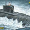 атомная подводная лодка баллистических ракет «Юрий Долгорукий» (1:350)