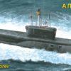 атомная подводная лодка баллистических ракет «Александр Невский» (1:350)