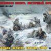 Немецкая пехота. Восточный фронт. Зима 1941-1942 г.