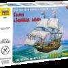 Флагманский корабль Френсиса Дрейка Галеон «Золотая лань»