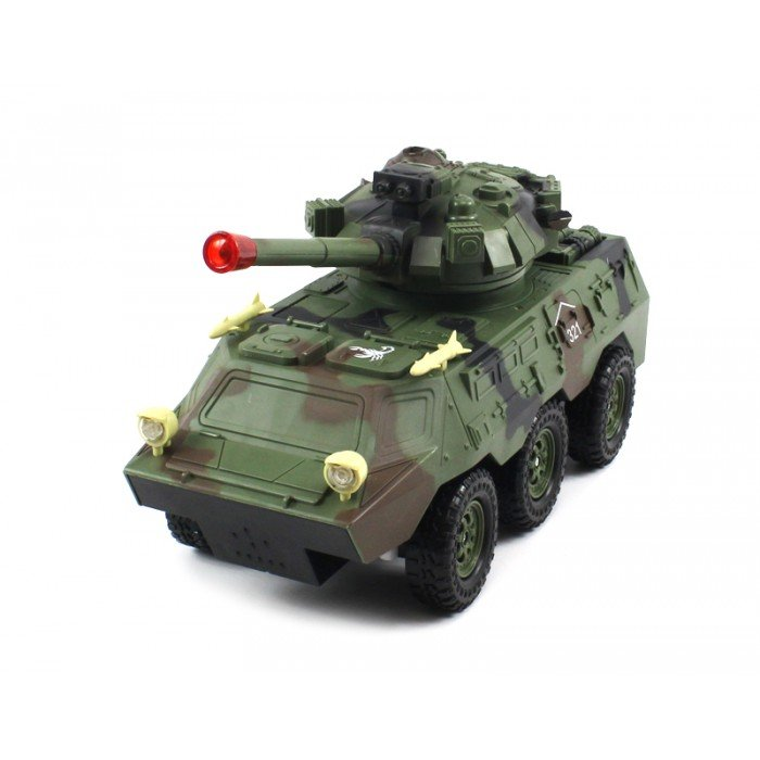Радиоуправляемый военный бронетранспортер Armored Car 1:20
