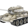 Радиоуправляемый танк Taigen Russia T34-85 Winter Camouflage Edition масштаб 1:16 ИК-управление