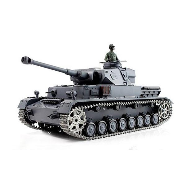 Радиоуправляемый танк Heng Long Panzerkampfwagen IV F2 Ausf SD KFZ масштаб 1:16 2.4G