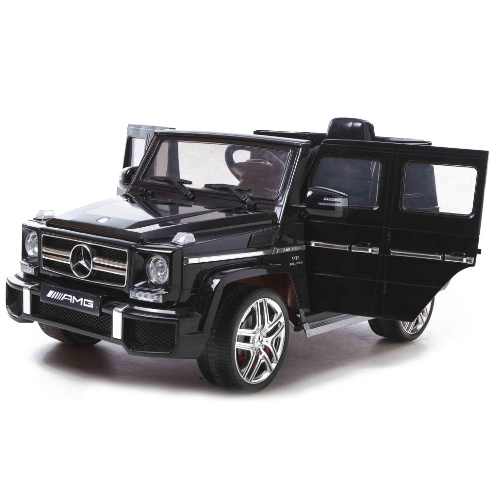 Детский электромобиль Mercedes Benz G63 LUXURY 2.4G — Black