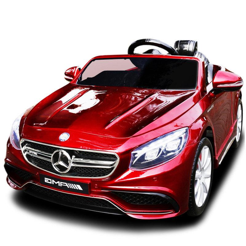 Детский электромобиль Mercedes Benz S63 LUXURY 2.4G — Red