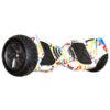 Гироскутер Smort Balance 9 Off-Road граффити белый (+Mobile APP)