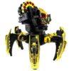 Радиоуправляемый боевой робот-паук Keye Toys Space Warrior (лазер, ракеты) 2.4GHz (золотой) + АКК и ЗУ