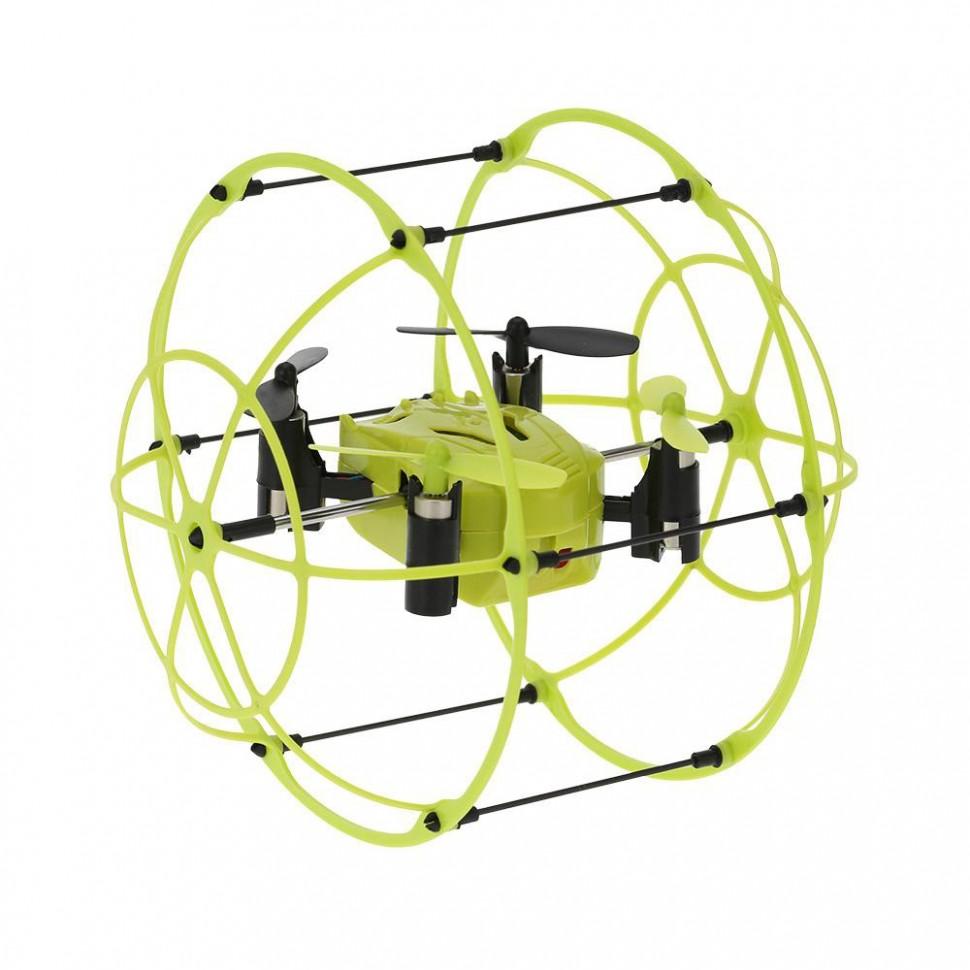 Квадрокоптер с защитной сеткой SKY WALKER