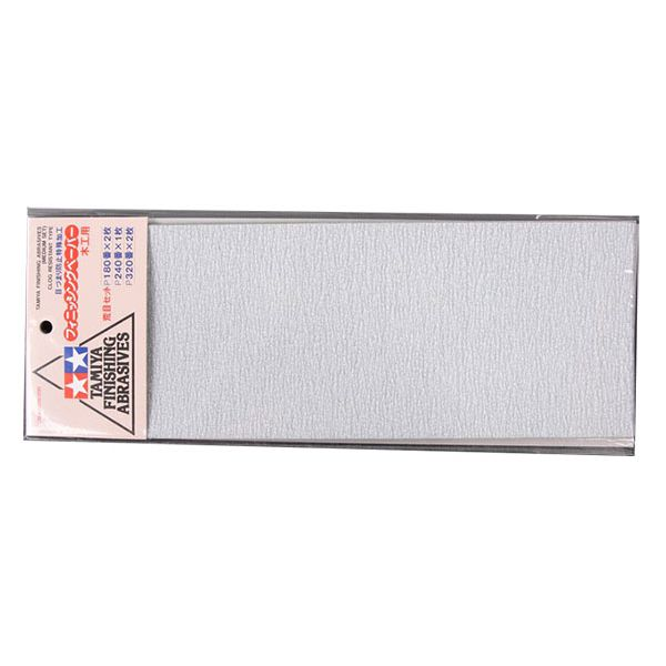 Набор водостойкой шлифовальной бумаги c зернистостью 180/240/320