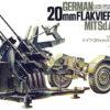 Немецкая 4-х ствольная зенитка Flakvierling 38 с прицепом (1:35)