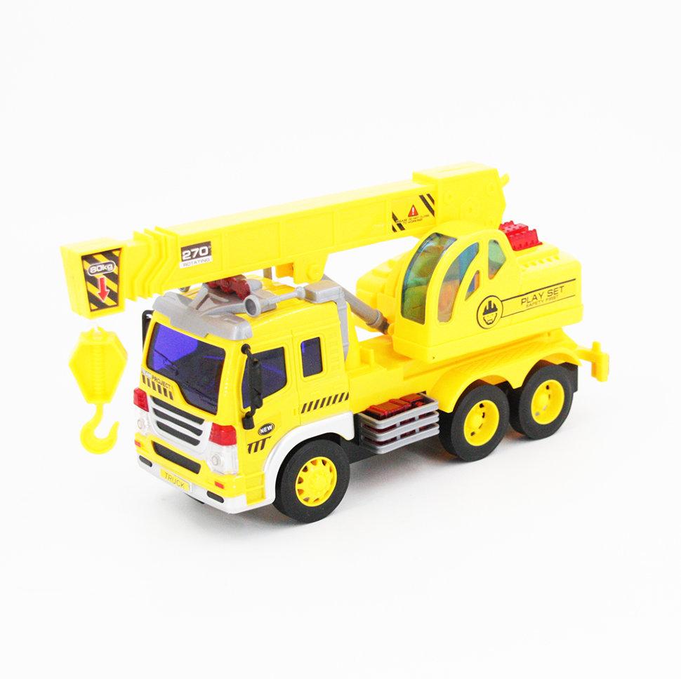 Радиоуправляемый грузовик — кран 1:16