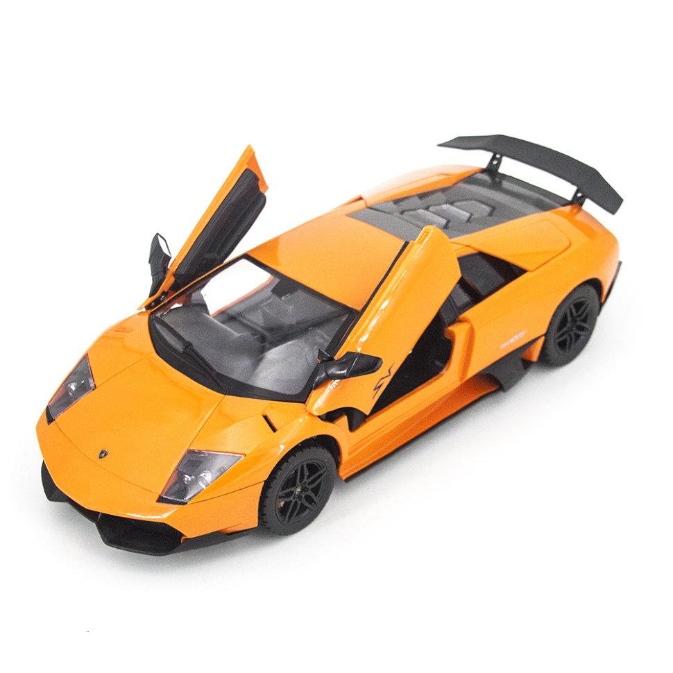 Радиоуправляемая машина MZ Lamborghini Murcielago LP670-4 SV Orange 1:14, открываются двери и капот