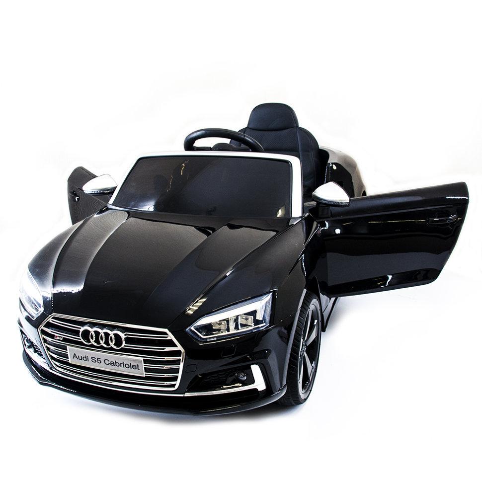 Детский электромобиль Audi S5 Cabriolet LUXURY 2.4G — Black — HL258-LUX-B