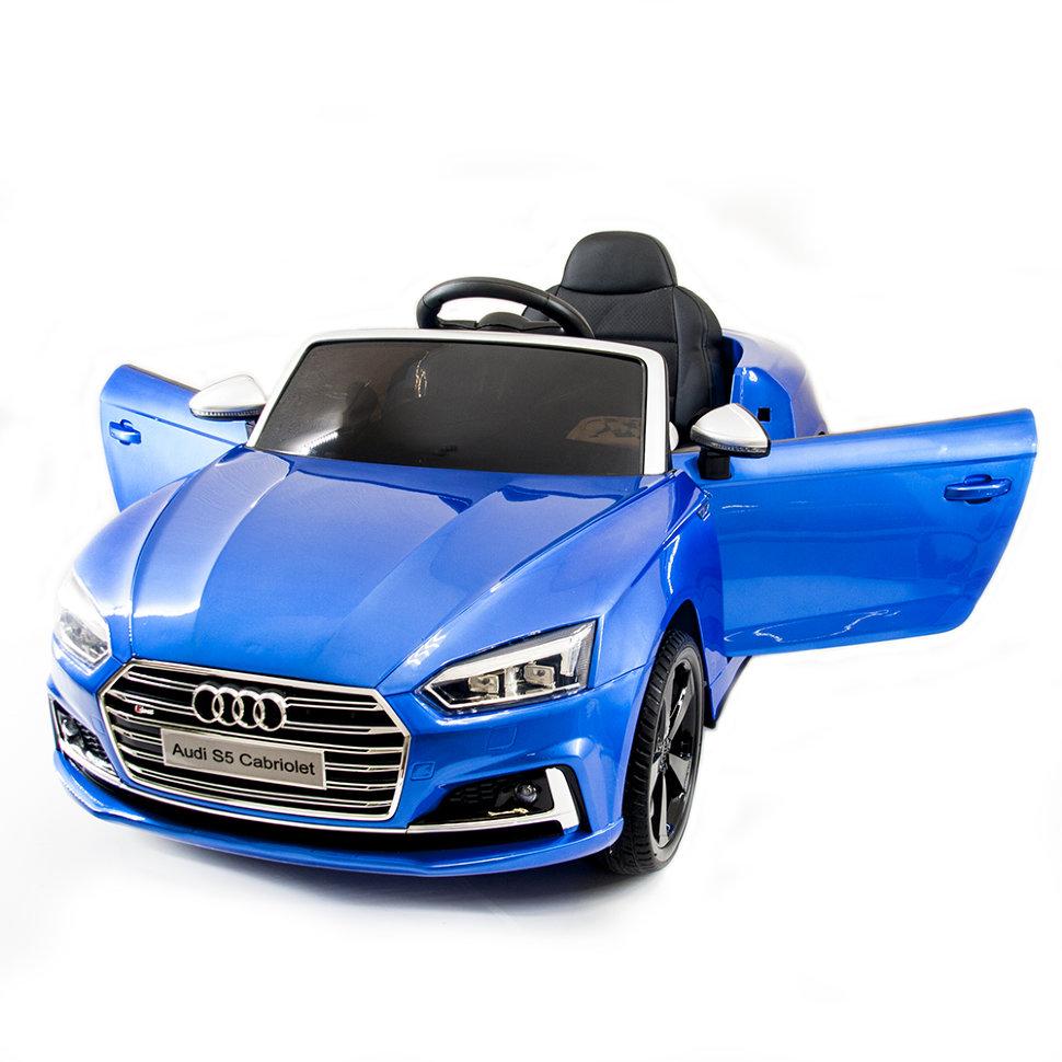 Детский электромобиль Audi S5 Cabriolet LUXURY 2.4G