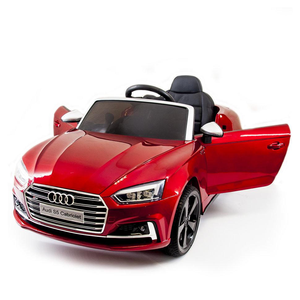 Детский электромобиль Audi S5 Cabriolet LUXURY 2.4G — Red — HL258-LUX-R
