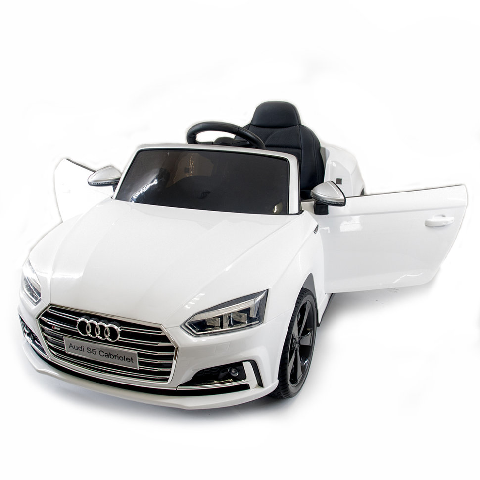 Детский электромобиль Audi S5 Cabriolet LUXURY 2.4G — White — HL258