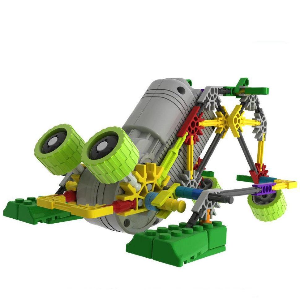 Конструктор на батарейках LOZ Робот-джунгли «Лягушка» 118 деталей — LOZ-3012