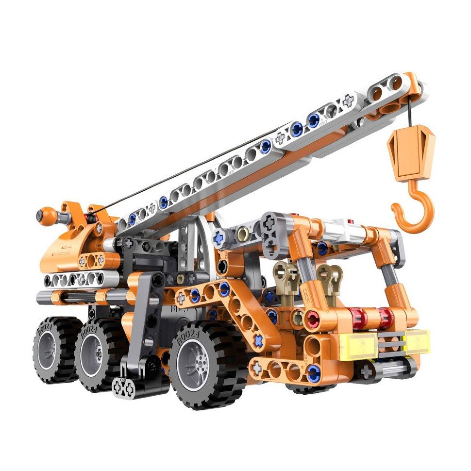 Конструктор Cada Technics строительный кран c инерционным механизмом, 272 детали — C52013W