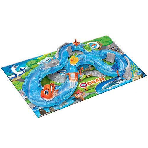 Детский водяной трек Ocean Park, 74 детали — 69904
