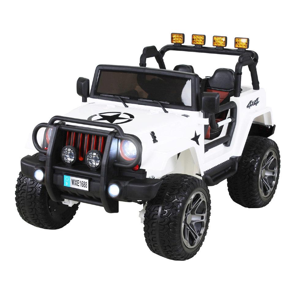 Радиоуправляемый белый джип Wrangler 2WD 2.4G — WXE1688-W