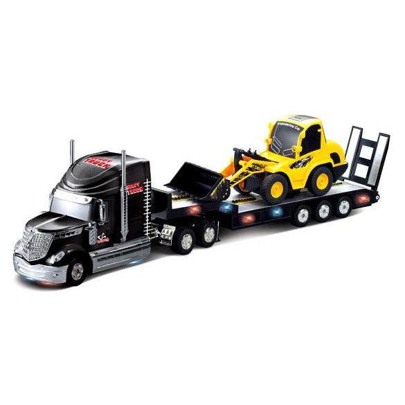 Радиоуправляемый грузовик и трактор