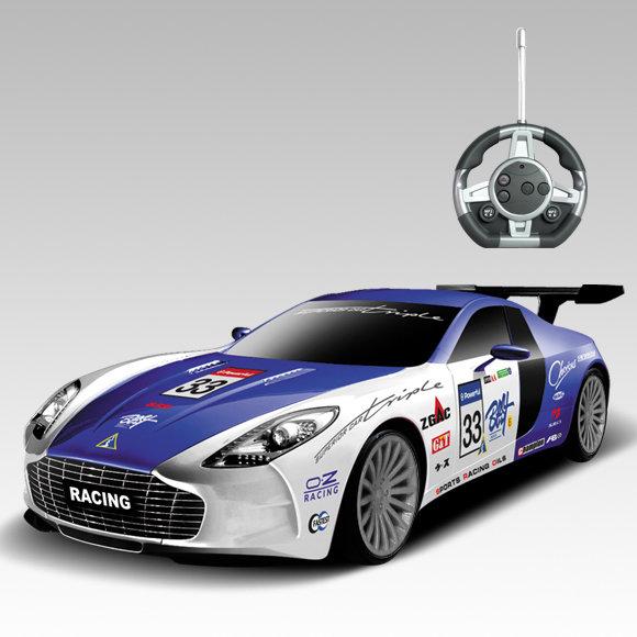 Радиоуправляемый конструктор — автомобиль Aston Martin Sport