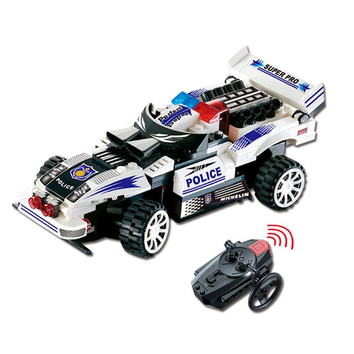 Радиоуправляемый конструктор — автомобиль «Полиция»