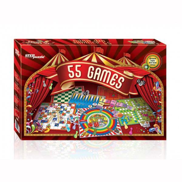 Набор игр Step Puzzle 55 лучших игр мира