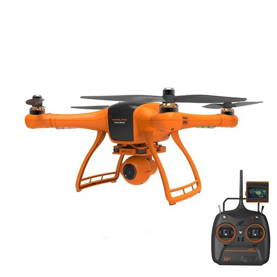 Квадрокоптер — Minivet с экраном 2.5″ FPV для аэрофотосъемки (передача видео, камера, подвес)