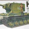 Советский тяжёлый танк КВ-2 c фигурой танкиста (1:35)