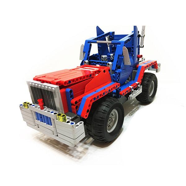 Радиоуправляемый конструктор грузовик / джип Cada Technics 2 в 1 — 2.4G — C51002W