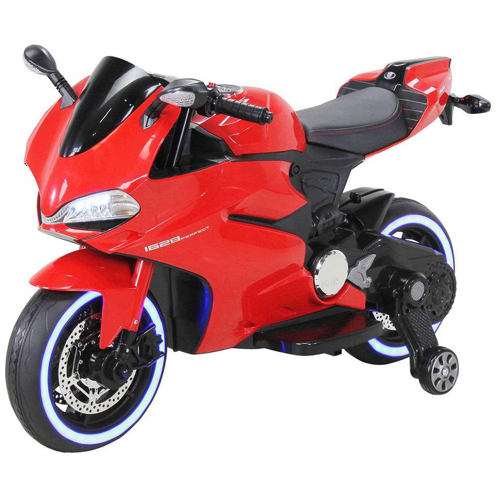 Детский электромобиль — мотоцикл Ducati Red — SX1628-G
