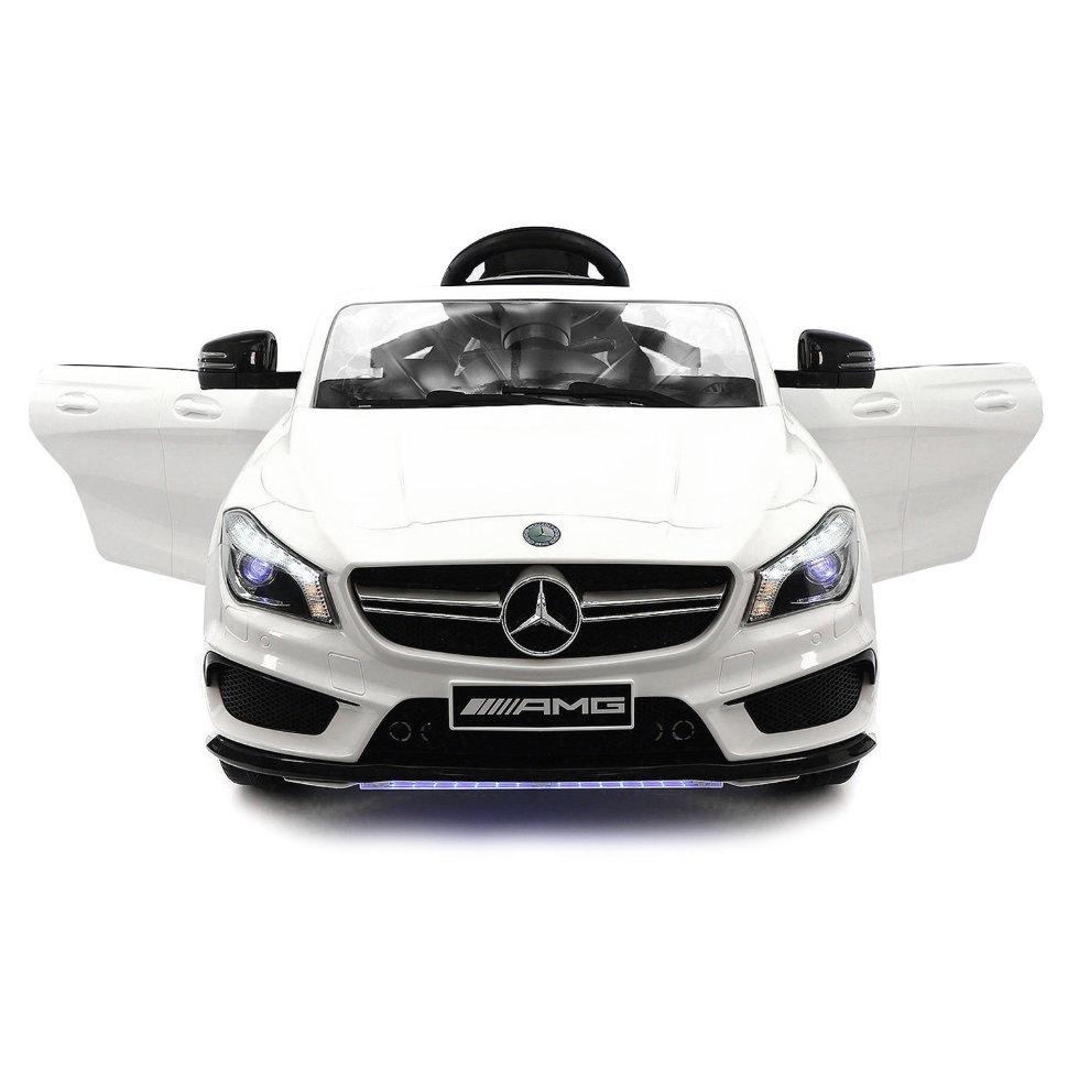 Детский электромобиль Mercedes CLA45 AMG LUXURY White 12V 2.4G — SX1538-E