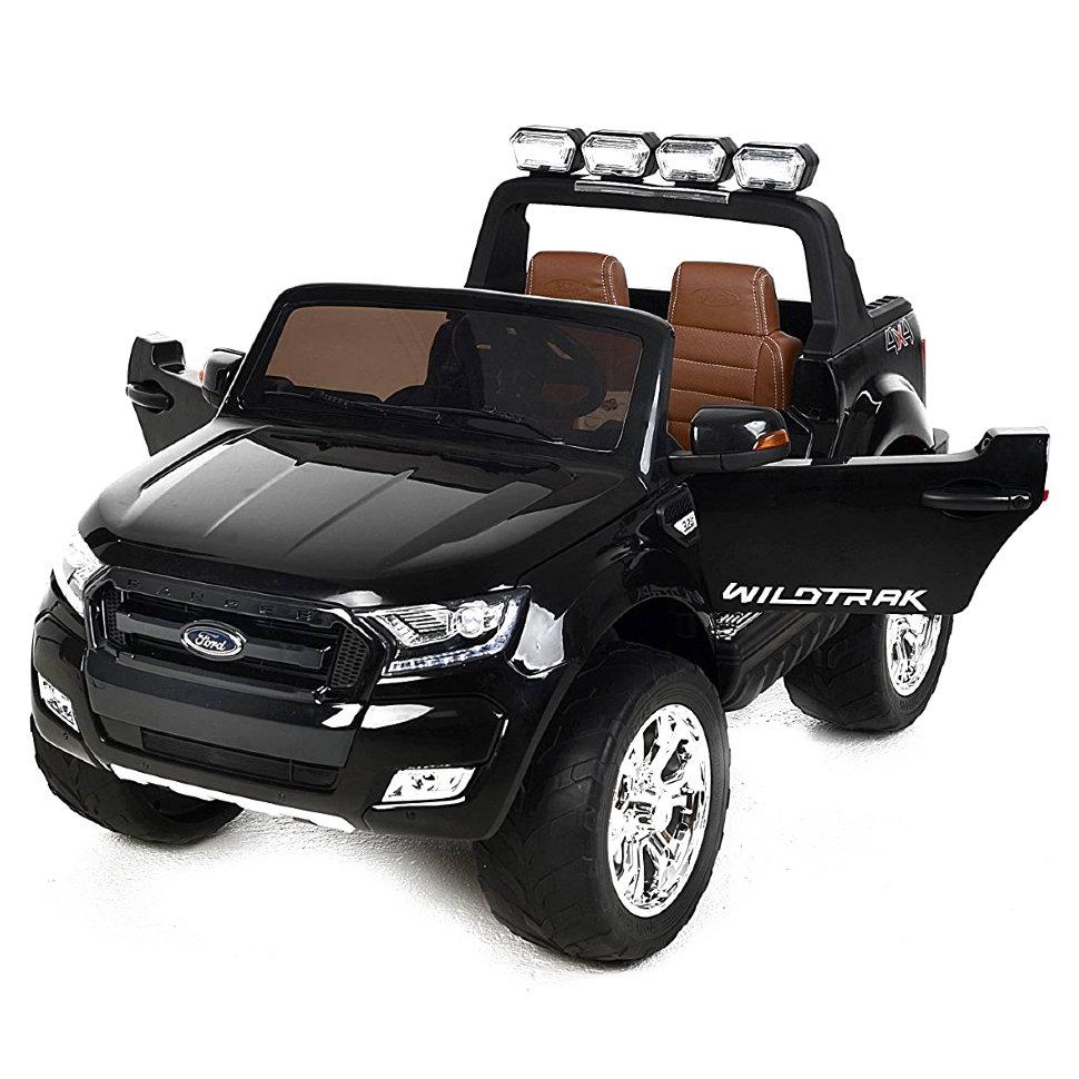 Детский электромобиль Dake Ford Ranger Black 4WD MP4 — DK-F650