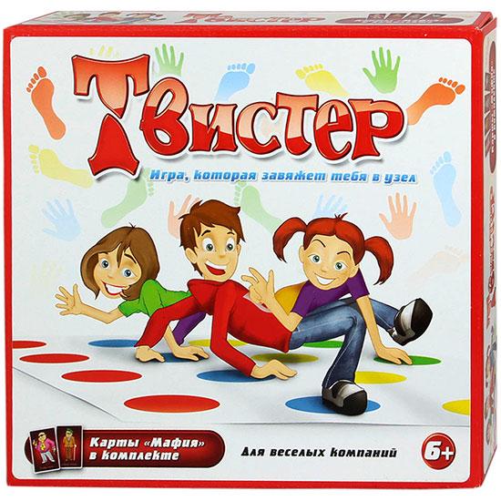 Игра напольная «Твистер» в коробке 10010