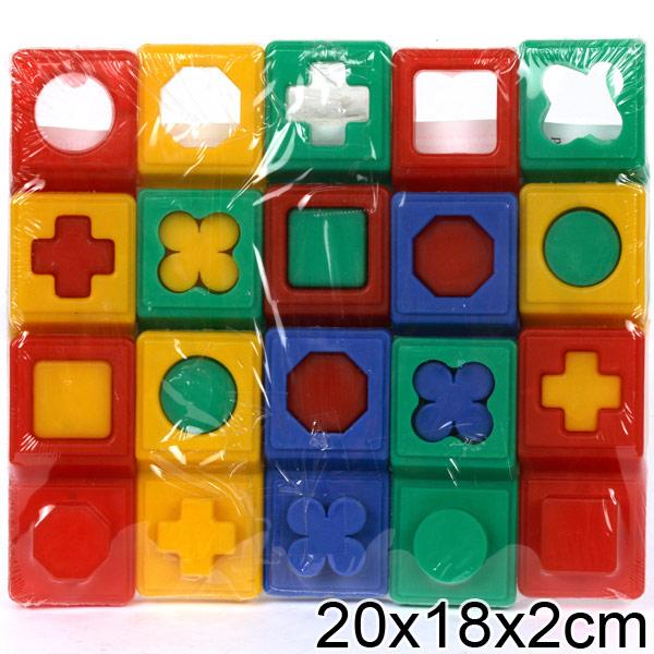 Домино логическое 15 эл. арт.5024 /50 Код товара: 1310885