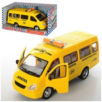 Инерц. маш. Play Smart BOX Автопарк, микроавтобус в ассортименте, BOX 23x12x11см, арт. 9098-E