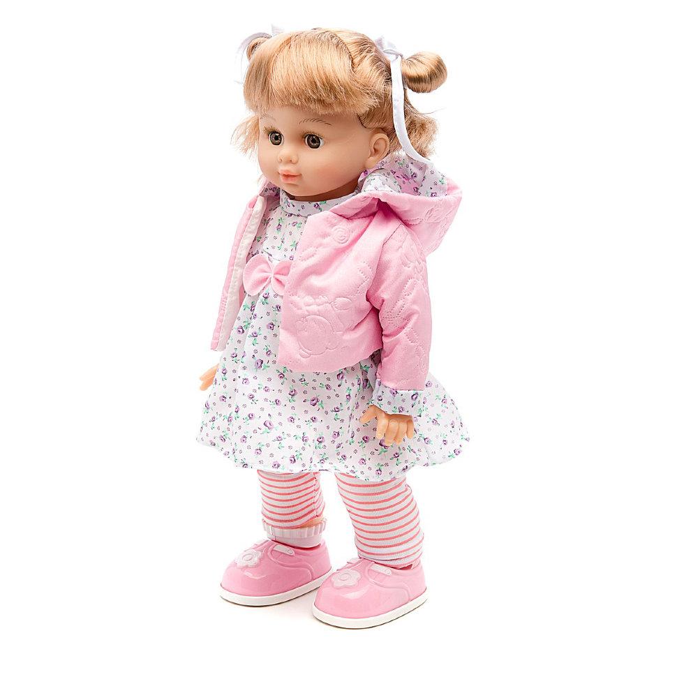 Интерактивная кукла Настенька, ходит и танцует, мобильное приложение — MY081