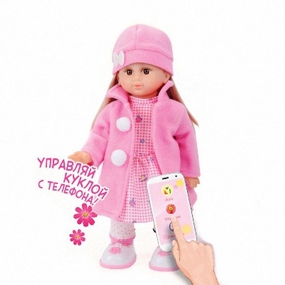 Интерактивная кукла Настенька, ходит и танцует, мобильное приложение — MY083
