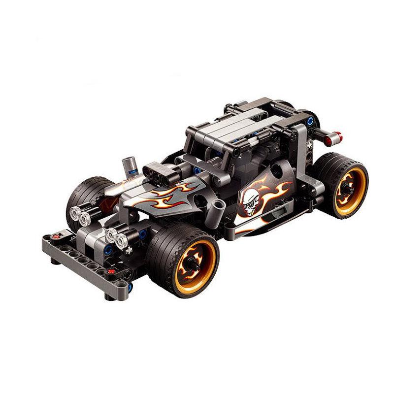 Конструктор DeCool ретро автомобиль с инерционным механизмом, 170 деталей — DL-3417
