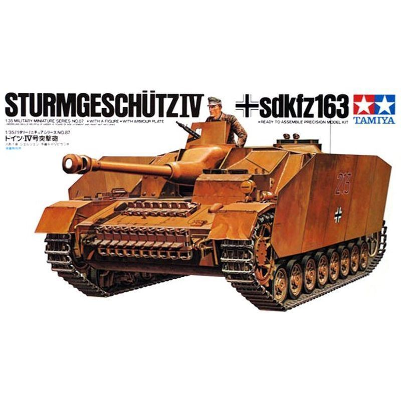 Немецкая САУ Sturmgeschutz IV Sd.Kfz.163. (1:35)