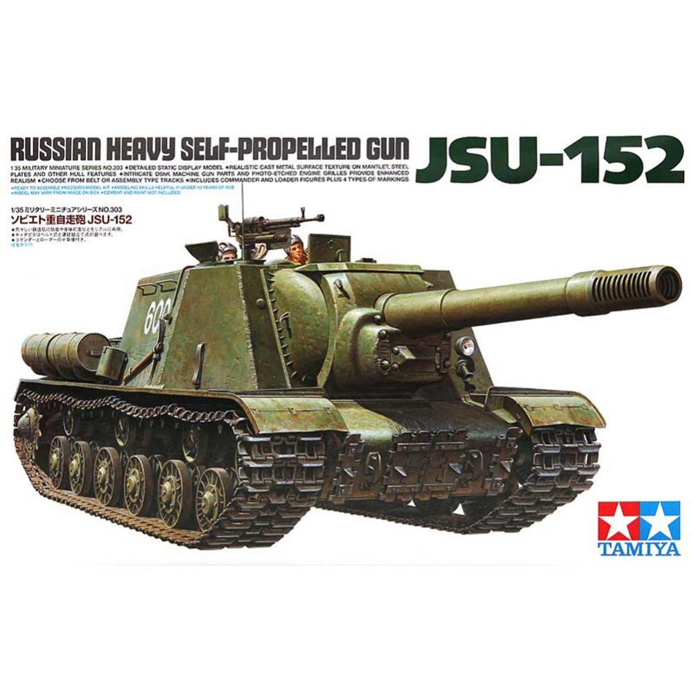 Советское тяжелое самоходное противотанковое орудие ИСУ-152 (Зверобой) (1:35)