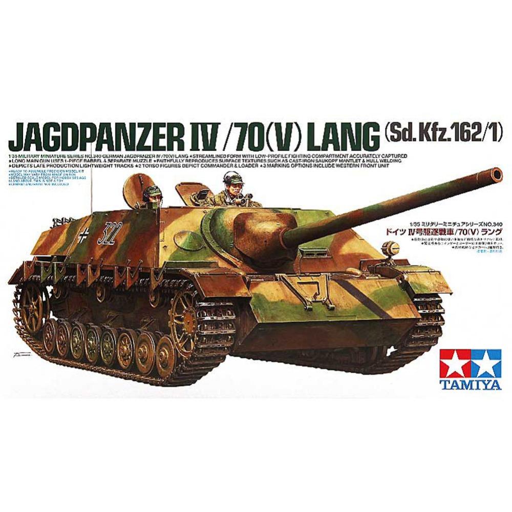 Немецкий истребитель танков Jagdpanzer IV Lang (1:35)