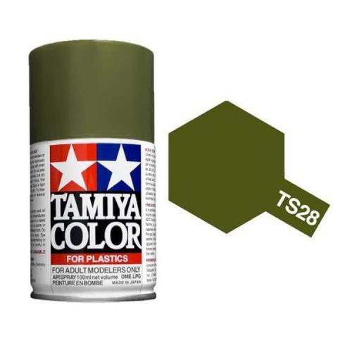 TS-28 Olive Drab (Оливковая) краска-спрей 100 мл.